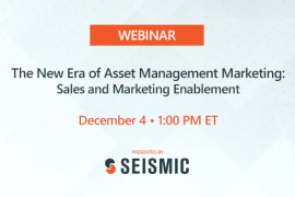 Presentation Available | Seismic Webinar