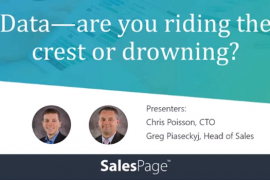 Data | Are You Riding the Crest or Drowning?