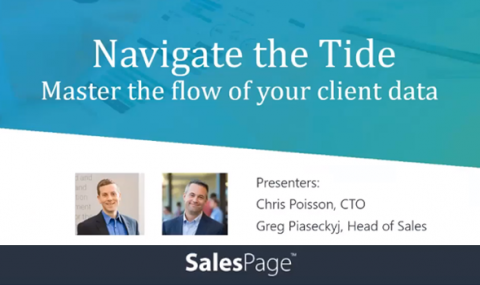Navigate the Tide | Master the Flow of your Client Data