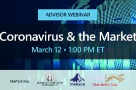 Advisor Webinar | Coronavirus & the Market