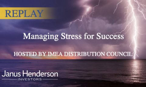 REPLAY | Managing Stress for Success