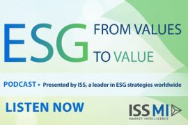 ESG From Values to Value